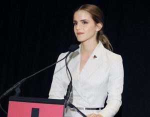 (New York, 19 September) — To kick-start a solidarity movement in support of women's rights and full equality between women and men, UN Women held a special event for the HeForShe campaign from United Nations Headquarters in New York today.  In her new role as UN Women Goodwill Ambassador, British actor and event co-host Emma Watson called on men and boys worldwide to join the movement for gender equality today. She was joined by United Nations Secretary-General Ban Ki-moon and UN Women Executive Director Phumzile Mlambo-Ngcuka, along with actor Kiefer Sutherland and civil society representatives, in a discussion about the central role men and boys can play in the achievement of gender equality. CNN anchor Wolf Blitzer moderated the discussion.   Photo: UN Women/Simon Luethi  For more on the event, please see: http://www.unwomen.org/news/stories/2014/9/20-september-heforshe-press-release  To join the HeForShe campaign, please visit: http://www.heforshe.org/